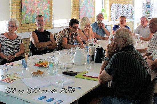 Guldborgsund Frivilligcenter §18 og §79 møde 2019