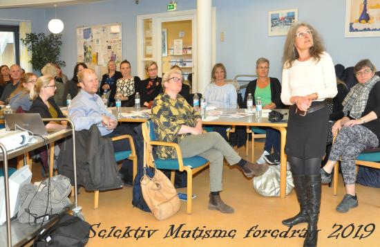 Guldborgsund Frivilligcenter Selektiv Mutismen med Eino Holme 2019