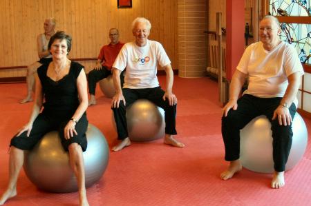 Motion på bolde, Guldborgsund Frivilligcenter