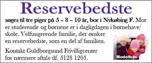 Annoncemodel Guldborgsund Frivilligcenter