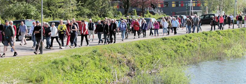 Lykke få ud at gå_2016, Guldborgsund Frivilligcenter