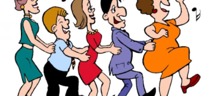 Dance in line