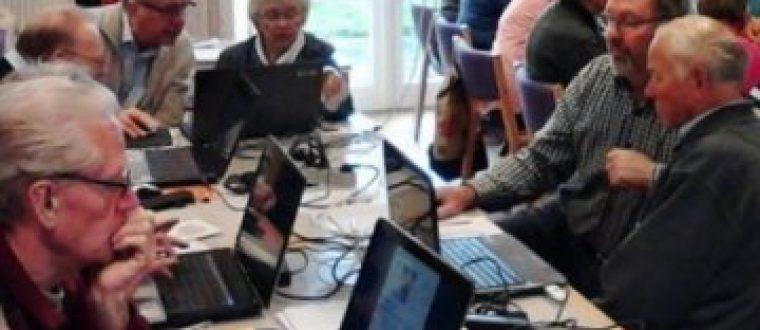 Senior Datastue Væggerløse