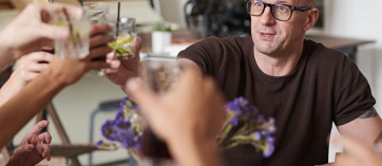 Fællesspisning med Mænds mødesteder – Se billederne